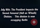 Image of President Harry Truman Berlin Germany, 1945, second 7 stock footage video 65675036261