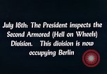 Image of President Harry Truman Berlin Germany, 1945, second 8 stock footage video 65675036261