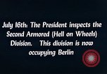 Image of President Harry Truman Berlin Germany, 1945, second 9 stock footage video 65675036261