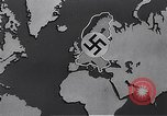 Image of bombing by Allied bombers Germany, 1945, second 1 stock footage video 65675036274