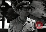 Image of Commander Frederick Ashworth of Bockscar Tinian Island Mariana Islands, 1945, second 5 stock footage video 65675036279