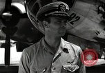 Image of Commander Frederick Ashworth of Bockscar Tinian Island Mariana Islands, 1945, second 6 stock footage video 65675036279