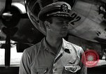 Image of Commander Frederick Ashworth of Bockscar Tinian Island Mariana Islands, 1945, second 8 stock footage video 65675036279