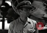 Image of Commander Frederick Ashworth of Bockscar Tinian Island Mariana Islands, 1945, second 9 stock footage video 65675036279