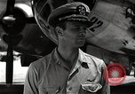 Image of Commander Frederick Ashworth of Bockscar Tinian Island Mariana Islands, 1945, second 10 stock footage video 65675036279