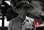 Image of Commander Frederick Ashworth of Bockscar Tinian Island Mariana Islands, 1945, second 12 stock footage video 65675036279