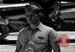 Image of Captain Kermit Beahan Tinian Island Mariana Islands, 1945, second 4 stock footage video 65675036282