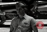 Image of Captain Kermit Beahan Tinian Island Mariana Islands, 1945, second 5 stock footage video 65675036282