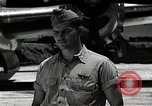 Image of Captain Kermit Beahan Tinian Island Mariana Islands, 1945, second 6 stock footage video 65675036282