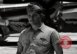 Image of Captain Kermit Beahan Tinian Island Mariana Islands, 1945, second 9 stock footage video 65675036282