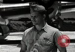 Image of Captain Kermit Beahan Tinian Island Mariana Islands, 1945, second 11 stock footage video 65675036282