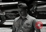 Image of Captain Kermit Beahan Tinian Island Mariana Islands, 1945, second 12 stock footage video 65675036282