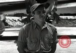 Image of Captain Theodore Van Kirk Tinian Island Mariana Islands, 1945, second 5 stock footage video 65675036283