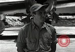 Image of Captain Theodore Van Kirk Tinian Island Mariana Islands, 1945, second 7 stock footage video 65675036283