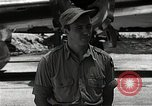 Image of Captain Theodore Van Kirk Tinian Island Mariana Islands, 1945, second 9 stock footage video 65675036283