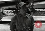 Image of Captain Theodore Van Kirk Tinian Island Mariana Islands, 1945, second 10 stock footage video 65675036283
