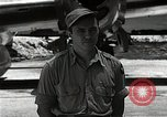 Image of Captain Theodore Van Kirk Tinian Island Mariana Islands, 1945, second 11 stock footage video 65675036283
