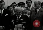 Image of David Ben-Gurion statement on arrival in USA Arlington Virginia USA, 1951, second 1 stock footage video 65675036288