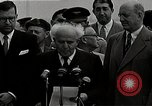 Image of David Ben-Gurion statement on arrival in USA Arlington Virginia USA, 1951, second 2 stock footage video 65675036288