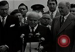 Image of David Ben-Gurion statement on arrival in USA Arlington Virginia USA, 1951, second 4 stock footage video 65675036288