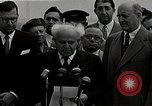 Image of David Ben-Gurion statement on arrival in USA Arlington Virginia USA, 1951, second 5 stock footage video 65675036288