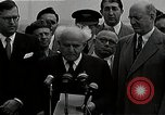 Image of David Ben-Gurion statement on arrival in USA Arlington Virginia USA, 1951, second 9 stock footage video 65675036288