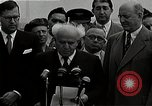 Image of David Ben-Gurion statement on arrival in USA Arlington Virginia USA, 1951, second 10 stock footage video 65675036288