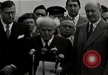 Image of David Ben-Gurion statement on arrival in USA Arlington Virginia USA, 1951, second 11 stock footage video 65675036288