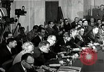 Image of Allegations addressed at Army-McCarthy hearings United States USA, 1954, second 11 stock footage video 65675036290