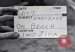 Image of Wrecked amphibious craft Iwo Jima, 1945, second 2 stock footage video 65675036298