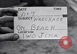 Image of Wrecked amphibious craft Iwo Jima, 1945, second 3 stock footage video 65675036298