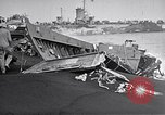 Image of Wrecked amphibious craft Iwo Jima, 1945, second 5 stock footage video 65675036298