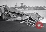 Image of Wrecked amphibious craft Iwo Jima, 1945, second 6 stock footage video 65675036298