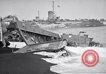 Image of Wrecked amphibious craft Iwo Jima, 1945, second 8 stock footage video 65675036298