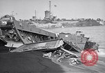 Image of Wrecked amphibious craft Iwo Jima, 1945, second 10 stock footage video 65675036298