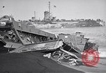 Image of Wrecked amphibious craft Iwo Jima, 1945, second 11 stock footage video 65675036298