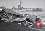 Image of Wrecked amphibious craft Iwo Jima, 1945, second 12 stock footage video 65675036298