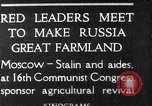 Image of Russian leaders Moscow Russia Soviet Union, 1925, second 1 stock footage video 65675036333