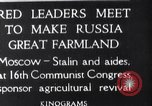 Image of Russian leaders Moscow Russia Soviet Union, 1925, second 2 stock footage video 65675036333