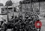 Image of US Army march in Paris in World War 1 Paris France, 1917, second 7 stock footage video 65675036347