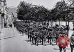 Image of US Army march in Paris in World War 1 Paris France, 1917, second 9 stock footage video 65675036347
