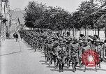 Image of US Army march in Paris in World War 1 Paris France, 1917, second 11 stock footage video 65675036347