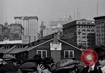 Image of Manhattan Island and New York City as seen from harbor New York City USA, 1919, second 3 stock footage video 65675036350