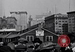 Image of Manhattan Island and New York City as seen from harbor New York City USA, 1919, second 4 stock footage video 65675036350