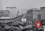 Image of Manhattan Island and New York City as seen from harbor New York City USA, 1919, second 7 stock footage video 65675036350