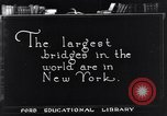 Image of geography of New York New York United States USA, 1925, second 1 stock footage video 65675036355
