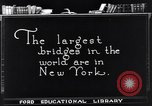 Image of geography of New York New York United States USA, 1925, second 2 stock footage video 65675036355