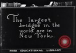 Image of geography of New York New York United States USA, 1925, second 4 stock footage video 65675036355