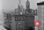 Image of the financial center-Wall Street New York United States USA, 1925, second 7 stock footage video 65675036356