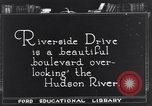 Image of Riverside Drive New York United States USA, 1921, second 1 stock footage video 65675036360